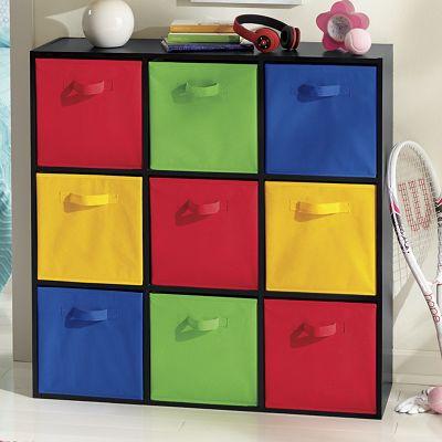 9-Cube Storage Cabinet