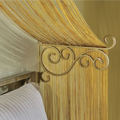 Set of 3 Bed Canopy Brackets