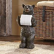 Standing Bear Toilet Paper Holder