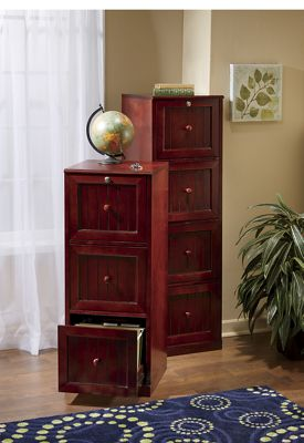 4-Drawer Locking File Cabinet