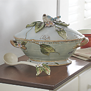 Blue Bird Soup Tureen