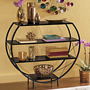 4 tier curved shelf