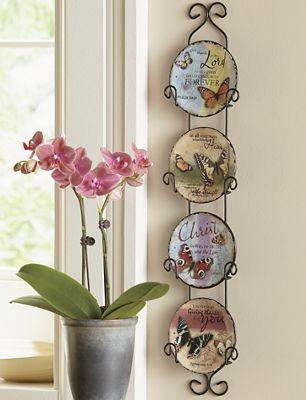 Butterfly Plate Set