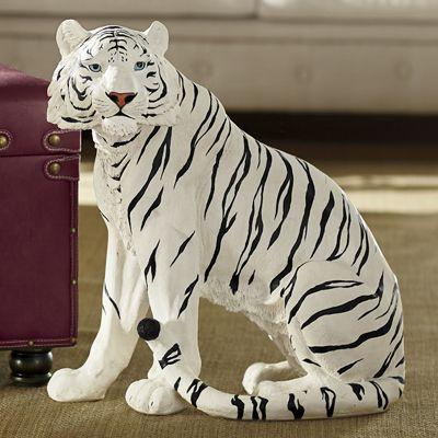 White Tiger Statue
