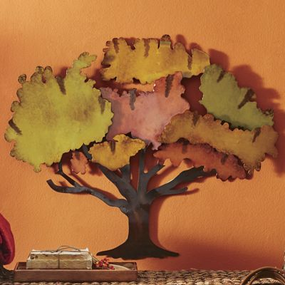 Tree-Mendous 3-D Metal Wall Décor