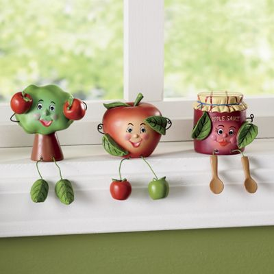 Apple Shelf Sitters
