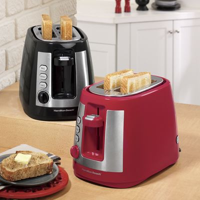 Extra-Wide Slot 2-Slice Toaster by Hamilton Beach