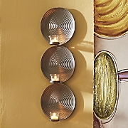Set of 2 Stacked Circles Sconces