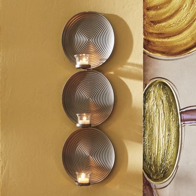 Set of 2 Stacked Circles Sconce