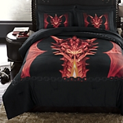 Draco Comforter Set and Shower Curtain