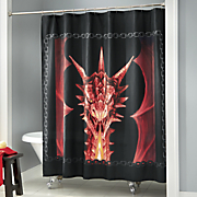 draco shower curtain