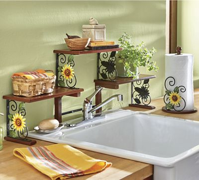 Sunflower Kitchen Accessories from Seventh Avenue | DC739057 on