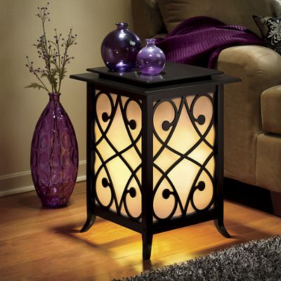 Lighted Shoji Table from Seventh Avenue 739165