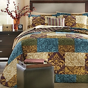 Queensgate Bedspread, Decorative Pillow and Window Treatments