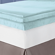 Sleep Connection Viscose Memory Foam Mattress Pad with Smooth Cooling Gel by Montgomery Ward