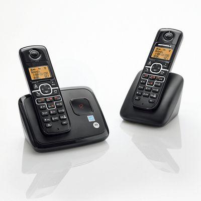Cordless 2-Phone System by Motorola
