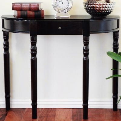 Half moon entryway console table from seventh avenue 739398 - Half table entryway ...