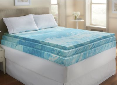 Gel Infused 4 Quot Foam Mattress Topper By Sensorpedic From