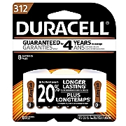 Duracell 312 8-Pack Hearing Aid Batteries