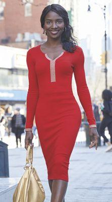 Tiffany Sweater Dress