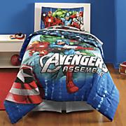 Avengers Comforter and Sheet Set
