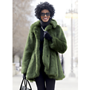 madelyn faux fur coat
