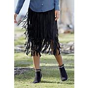 to the max fringe skirt
