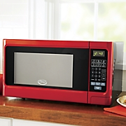 Ginny's Brand Red Metallic Microwave