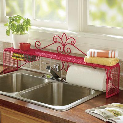 Scroll Sink Shelf