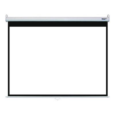 "100"" Manual Wall Projector Screen"