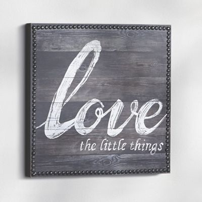 Love The Little Things Art