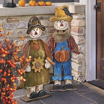 Wooden Scarecrows