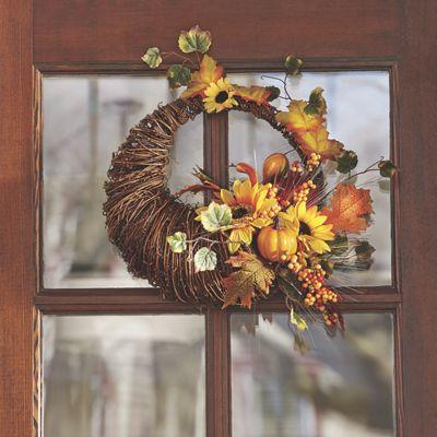 Cornucopia Wreath