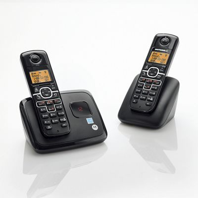 Cordless 3-Phone System by Motorola