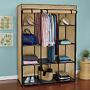 Heavy Duty Two-Tone Storage Wardrobe