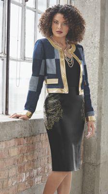 London Denim Jacket and Glyris Skirt