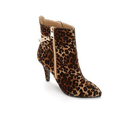 Claudia Leopard Bootie by Bellini