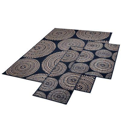 3-Piece Aztec Rug Set