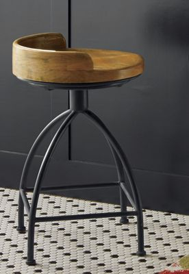 Blake Short Wood Seat Stool From Country Door Nw742227