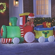 Inflatable Christmas Train