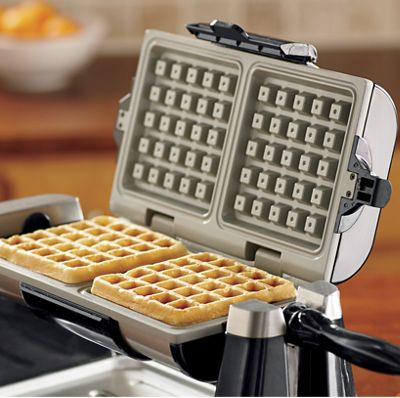 Ginny's Brand Rotating Double Waffle Maker