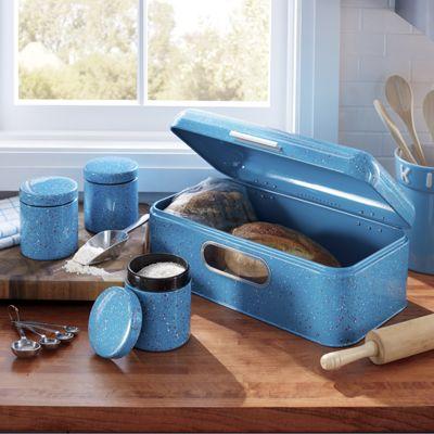 4-Piece Breadbox & Canister Set