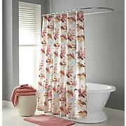 Spa Foliage Shower Curtain