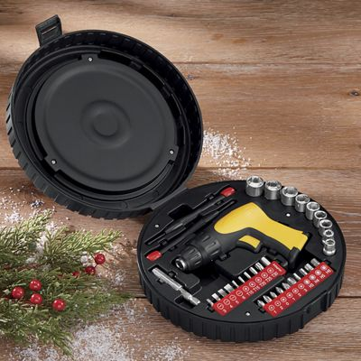 33-Piece Tire-Shaped Tool Set