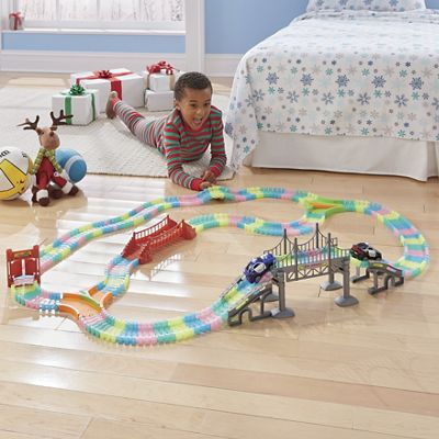 299-Piece Glow-In-The-Dark Click-Lock Track