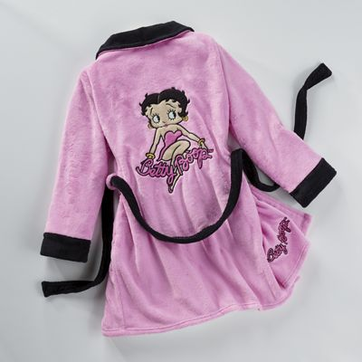 Betty Boop Hot Pink Robe From Seventh Avenue Dj742806