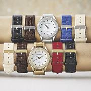 Interchangeable-Strap Watch Set