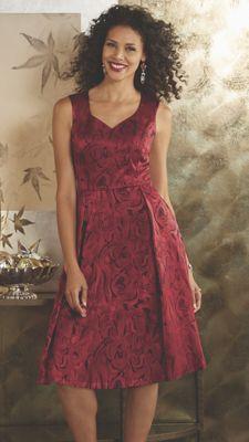 Jacquard Party Dress