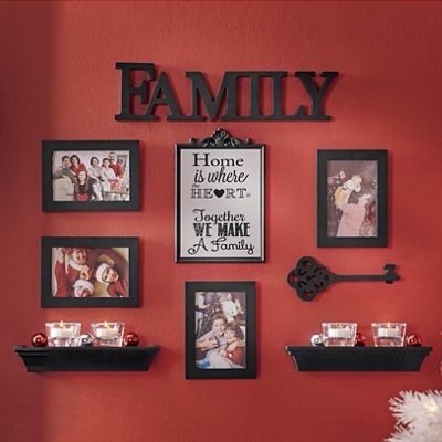 9-Piece Family Wall Gallery Set