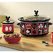 Classic Mickey Slow Cooker and Mini Dipper